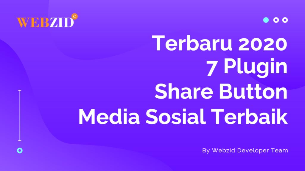 Plugin Share Button Media Sosial