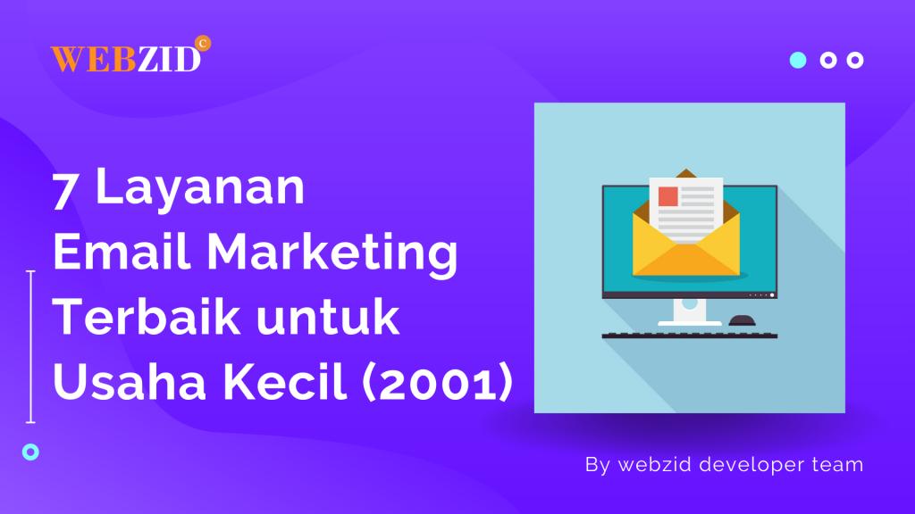 7 Layanan Email marketing Terbaik untuk Usaha Kecil (2001)